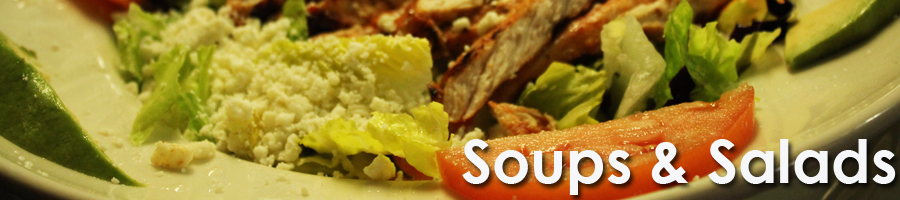 Order Mexican Food in Charlotte Soups and Salads by Don Pedro Restaurant