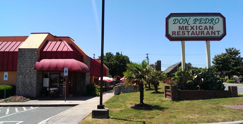 Don Pedro Restaurant Mexican Food Pineville