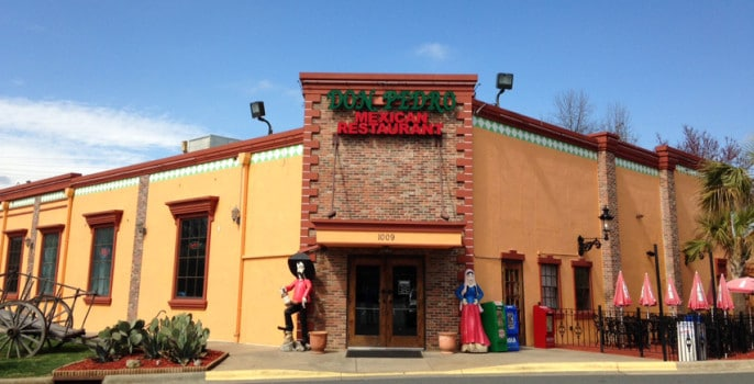 Don Pedro Mexican restaurant University location